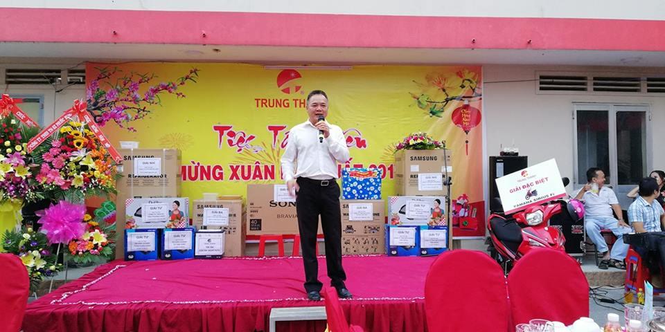 Ông Cao Minh Hòa - Chủ tịch HĐQT kiêm Tổng Giám đốc Công ty khai mạc buổi lễ
